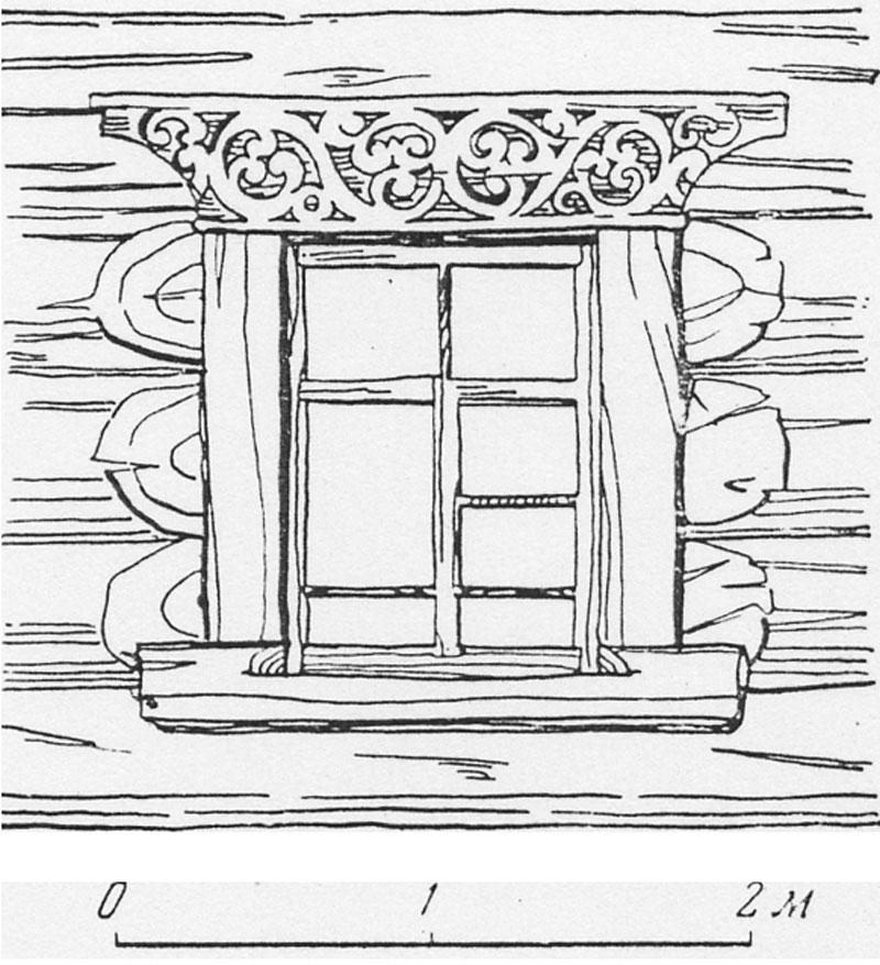 Наличники на окна нарисовать своими руками 62