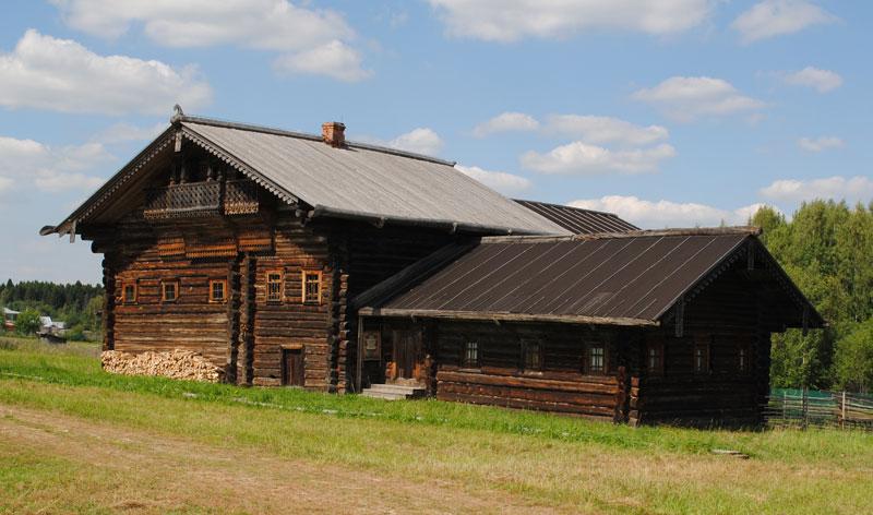 Дом с зимней избой Болотовой