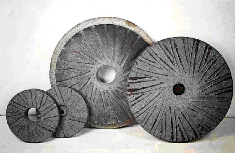 Каменные жернова для мельницы своими руками