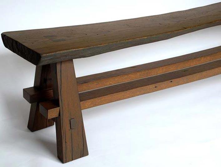 Скамейка своими руками из дерева: инструкция начинающего 34